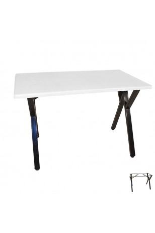 Anemon Werzalit Mutfak Masası 80x140 (ESB-SIYAH) (Kampanya)
