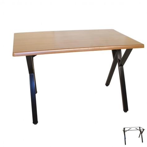 Anemon Werzalit Mutfak Masası 80x120 (ESB-SIYAH) (Kampanya)-2