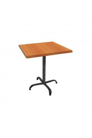 Indigo Werzalit Kare Mutfak Masası 80x80 (ESB-SİYAH) (Kampanya)