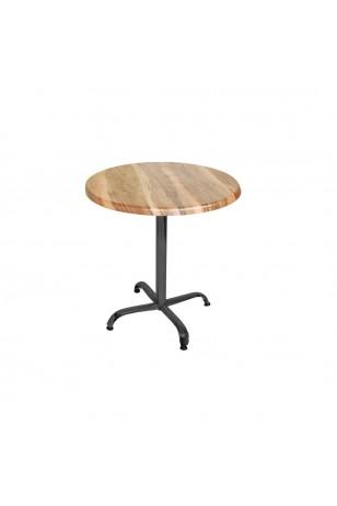Indigo Werzalit Yuvarlak Mutfak Masası 60cm Çap (ESB Siyah) (Kampanya)-2