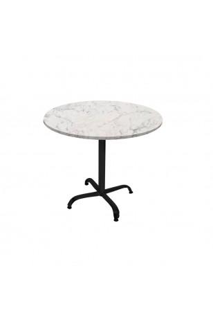 Indigo Werzalit Yuvarlak Mutfak Masası 90cm Çap (ESB Siyah) (Kampanya)