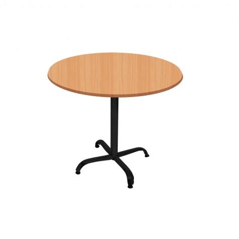 Indigo Werzalit Yuvarlak Mutfak Masası 90cm Çap (ESB Siyah) (Kampanya)-2