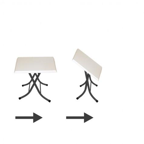 Klasik Katlanır Werzalit Kare Tabla Masa (70x70) (Kampanya)-3