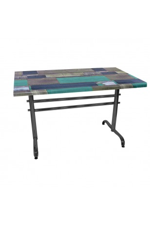Valerya Werzalit Mutfak Masası 80x140 (ESB-SIYAH) (Kampanya)-3