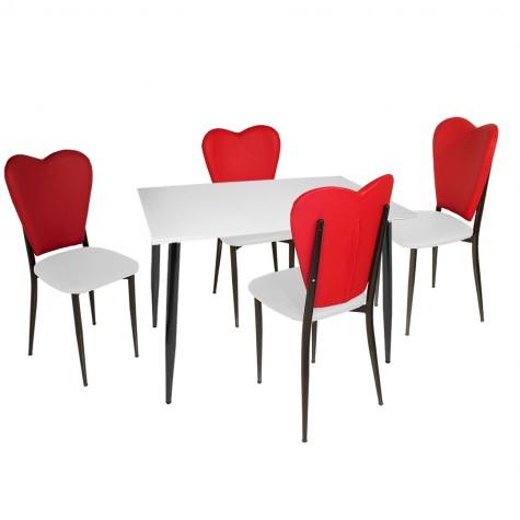 Aşk-ı Derun - Manolya Mutfak Masa Takımı (KAMPANYA)