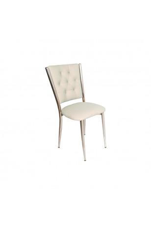 Kapitoneli Sandalye (Deri) (Fırsat Ürünü)