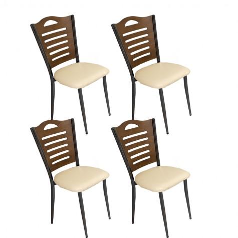 Merdiven Tip Sandalye ESB (4 Adet)  (Kampanya)