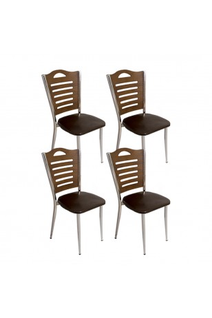 Merdiven Tip Sandalye (4 Adet) (Kampanya)