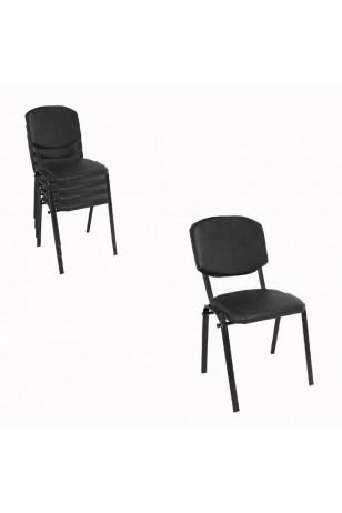 Üst Üste Konan Mutfak ve Balkon Sandalyesi (4 Adet)