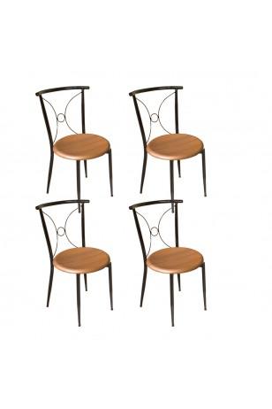 Tiffany Werzalit Bahçe ve Balkon Sandalyesi (4 Adet) (Fırsat Ürünü)