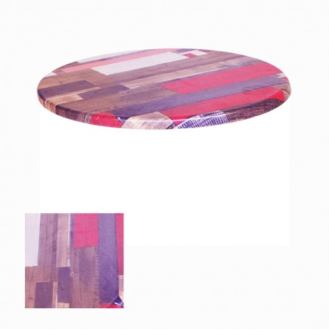 Werzalit Masa Tablası Yuvarlak 107 cm (Kampanya)