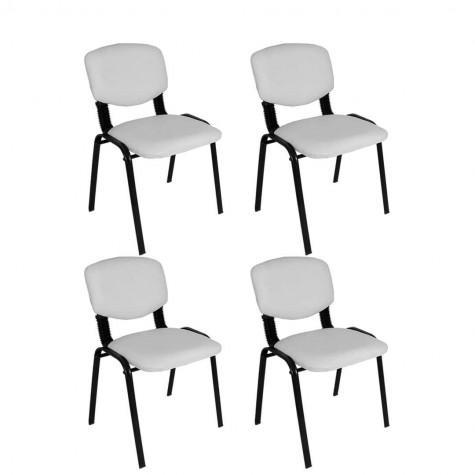 Form Ofis ve Toplantı Sandalyesi (4 Adet)